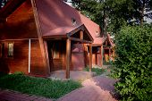 pic of chalet  - Charming chalets prepared to invite the tourists - JPG
