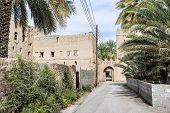 picture of oman  - Image of ruins in Birkat al mud in Oman - JPG