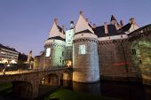 stock photo of duke  - Castle of the Dukes of Brittany  - JPG