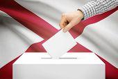 image of alabama  - Voting concept  - JPG