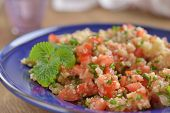 foto of quinoa  - Tabbouleh with quinoa - JPG