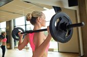 pic of barbell  - fitness - JPG