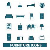 stock photo of settee  - furniture - JPG