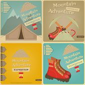 foto of boot camp  - Mountain Climbing Cards Collection - JPG