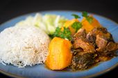 stock photo of stew  - Cuban Cuisine - JPG