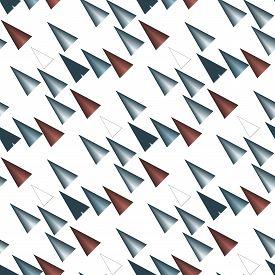 foto of triangular pyramids  - Colored triangular pattern or texture on white background - JPG