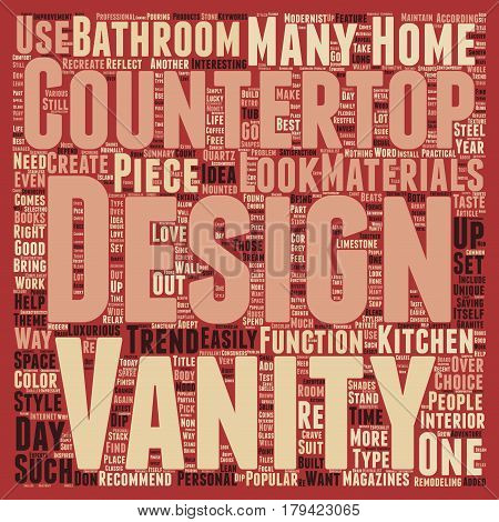 Countertops And Vanities