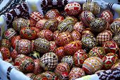 Bucovina Painted Easter Eggs