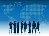 pic of person silhouette  - Business people of the world - JPG