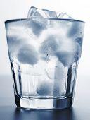 Постер, плакат: Ледяной воды