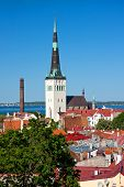 picture of olaf  - Cityscape picture taken in the Old Town of Tallinn Estonia - JPG