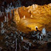picture of carlsbad caverns  - Stalactite stalagmite cavern - JPG