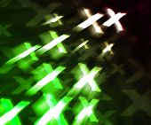 stock photo of x-rated  - Dark Green XXX Abstract Background Image Texture - JPG
