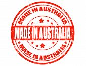 Made In Australia-stamp
