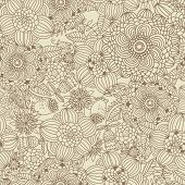 Stylish vintage floral background. Seamless pattern can be used for wallpapers, pattern fills, web p