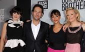 LOS ANGELES - AUG 16:  ZOOEY DESCHANEL, PAUL RUDD, RASHIDA JONES & ELIZABETH BANKS arrives to the