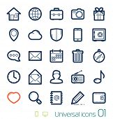 foto of glass heart  - Universal icons set Perfect lines 01 - JPG