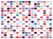 picture of pop art  - Vector retro pop art mosaic on white background - JPG