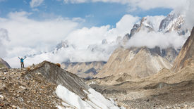 image of skardu  - Baltoro Glacier Trekking Adventure Karakorum Mountains Pakistan - JPG