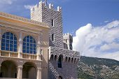 Princes Reinier's Palace in Monaco