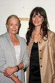 Vanessa Redgrave and Saffron Burrows  at the 60th Anniversary of the Universal Declaration of Human