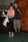 Bonnie McKee and Michael Tran  at a Private Premiere Party for TLC's 'Who Are You Wearing'. Stork, H