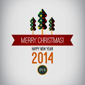 picture of happy new year 2014  - Merry christmas design - JPG
