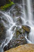 image of bavaria  - Longtime exposure of Kuhlfucht waterfall in Germany Bavaria - JPG