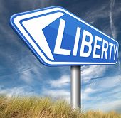 stock photo of freedom speech  - liberty freedom democracy and human rights free of speech  - JPG