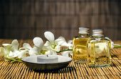 stock photo of massage oil  - Massage items of massage oil - JPG