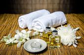 stock photo of massage oil  - Spa product - JPG