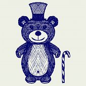 foto of teddy  - Creative teddy bear - JPG