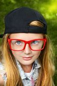 stock photo of spectacles  - Close - JPG