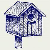 foto of nesting box  - Nest box birdhouse - JPG