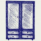 picture of wardrobe  - Illustration wardrobe - JPG