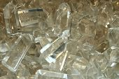 picture of quartz  - crystal quartz texture as very nice mineral background - JPG