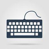 foto of qwerty  - keyboard icon - JPG