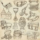 foto of freehand drawing  - OBJECTS  - JPG