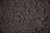 picture of heatwave  - cracked soil background - JPG