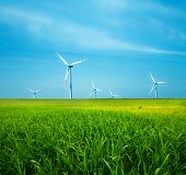 pic of wind-power  - Wind Turbines - JPG