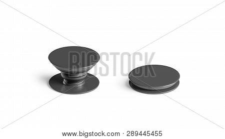 Blank Black Phone Pop Socket