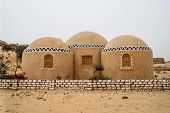 Mud Brick House In Siwa Oasis, Egypt poster