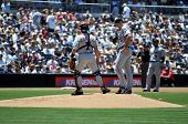 June 22nd, 2008 Detroit Tiger's Pitcher Justin Verlander taken at Petco Park during a game with the