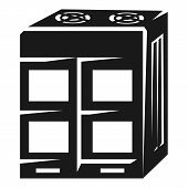 Large Air Conditioning Icon. Simple Illustration Of Large Air Conditioning Icon For Web Design Isola poster