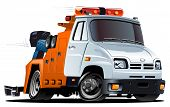picture of wreckers  - Vector cartoon tow truck - JPG