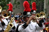 Horn Players,  Marching Band