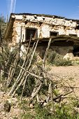 picture of stagecoach  - abondoned stagecoach depot on a back road in Arizona - JPG