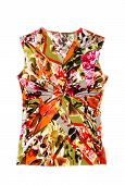 Woman's Colorful Sleeveless Shirt