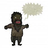 picture of tramp  - retro cartoon crazy tramp - JPG