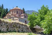 foto of sparta  - The Church of Agioi Theodoroi in Mystras Peloponnese Greece - JPG